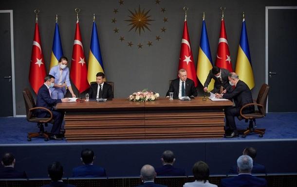 Появились детали военных договоров Украины и Турции